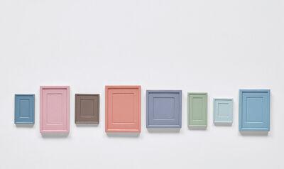 Allan McCollum, 'Collection of 8 Plaster Surrogates', 1989