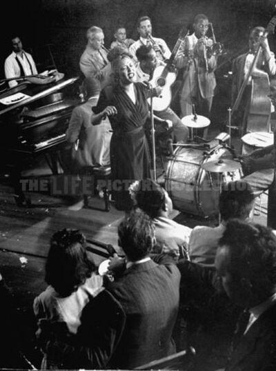 Gjon Mili, 'Billie Holiday', 1944
