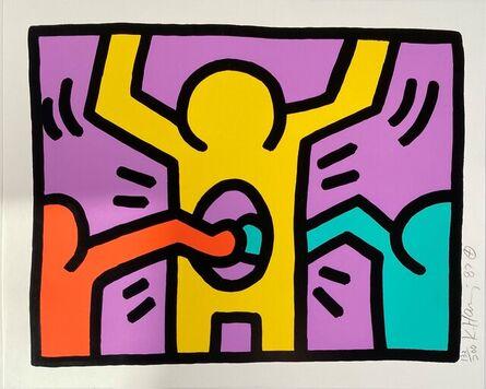 Keith Haring, 'Pop Shop I, (3)', 1987
