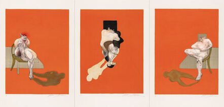 Francis Bacon, 'Triptych 1983 (signed)', 1983