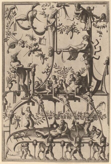 Cornelis Floris II, 'Ornament', 1557