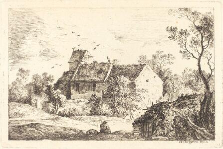 Nicolas Pérignon, 'House with a Dovecote in a Rolling Landscape', ca. 1770