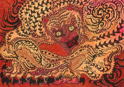 Kaneko Tomiyuki, 'Messenger of Bishamon Temple 3', 2021