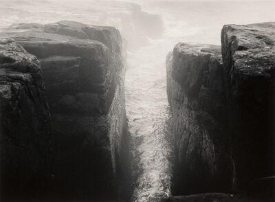 Minor White, 'Ocean, Schoodic Point, Maine', 1968