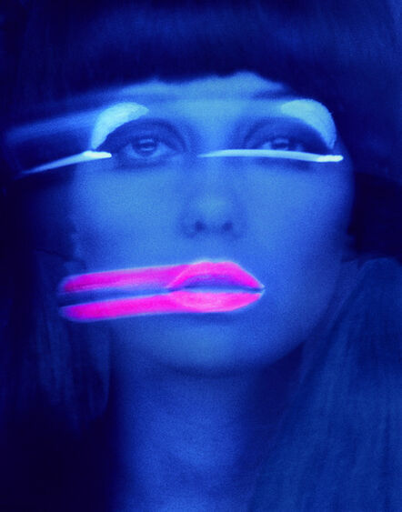 Melvin Sokolsky, 'Lip Streaks, Donna Mitchell, New York', 1967