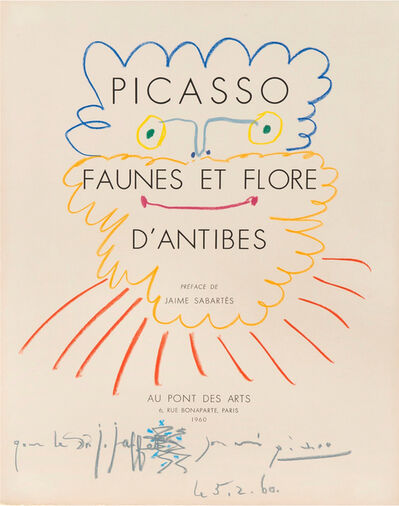 Pablo Picasso, 'Tête de barbu', 1960