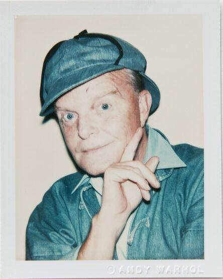Andy Warhol, 'Andy Warhol, Polaroid Portrait of Truman Capote', 1977