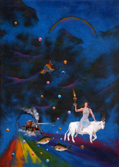 Gonzalo Endara Crow, 'La Noche de Los Globos (The Night of the Balloons)', 1991