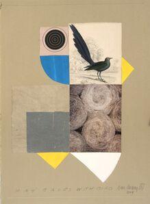 Ivan Chermayeff, 'Hay Bales with Bird', 2004