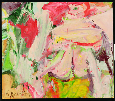 Willem de Kooning, 'Untitled (Woman in Forest)', ca. 1963