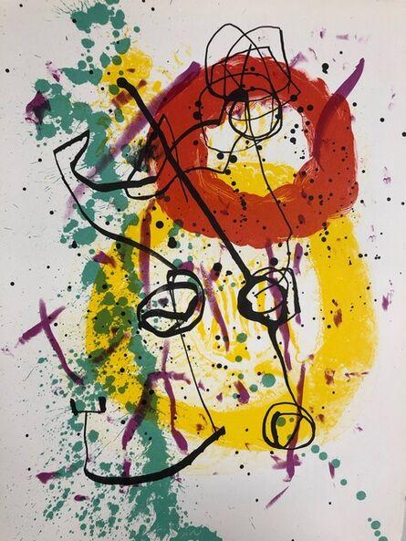 Joan Miró, 'Soleil Rouge', 1961