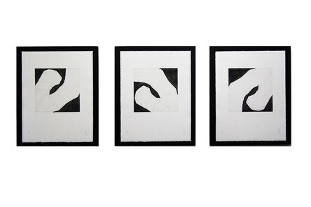 Pierre Muckensturm, 'Triptych 183s22071 - Original aquatint', 2018