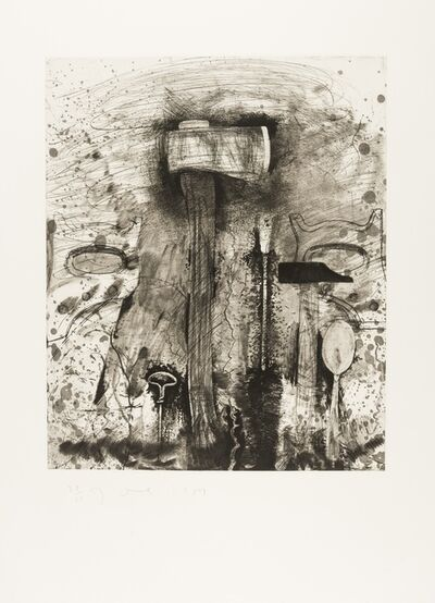 Jim Dine, 'The New French Tools 4 - Roussillon', 1984