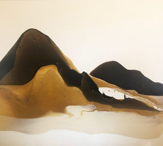 Melissa Dickenson, 'Charcoal Mountain', 2020