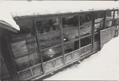 Kazuo Kitai, 'In the Snow, Yuzawa, Akita (To the Villages series)', 1976