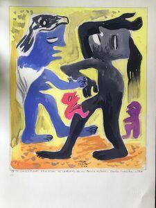 Carlos Merida, 'Plastic ramblings / Divagaciones plásticas', 1944