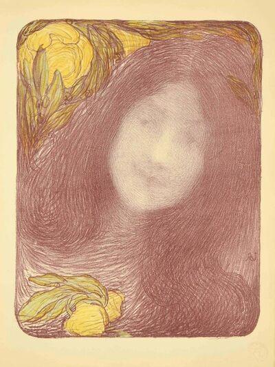 Edmond Aman-Jean, 'Sous les Fleurs', 1898