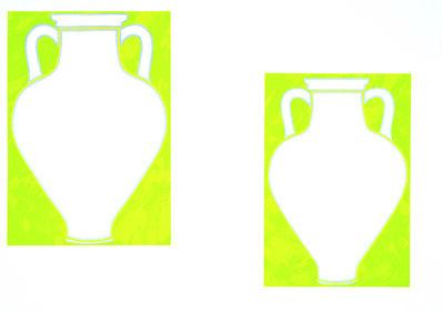 Jo Baer, 'Amphora Frieze  (Not sold separately)', 2004