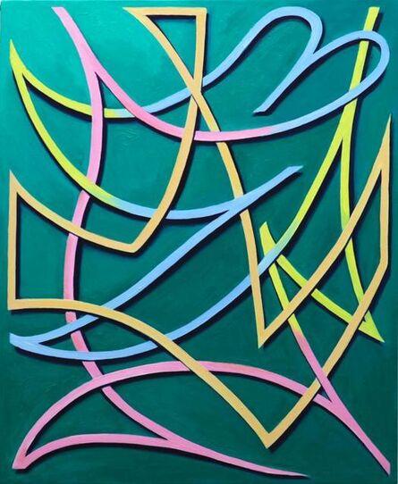 Daichi Takagi, 'four color line', 2013