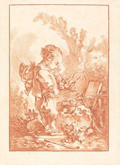 Gilles Demarteau, the Elder after François Boucher, 'Le Maraudeur (The Thief)', ca. 1769