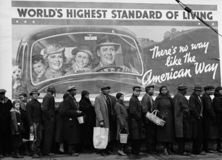 Margaret Bourke-White, 'At the Time of the Louisville Flood, KY', 1937