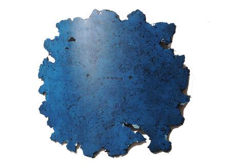 Manuel Franke, 'bleu profond', 2019