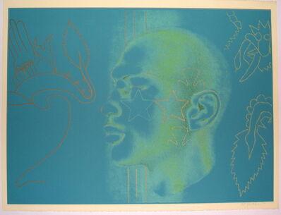 Ed Paschke, 'One on One (Portrait of Michael Jordan)', 1994
