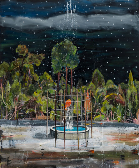 Nicky Nodjoumi, 'Moon Light and the Fish', 2016