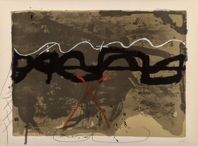 Antoni Tàpies, 'Untitled, from Nocturn Matinal (three works)', 1970