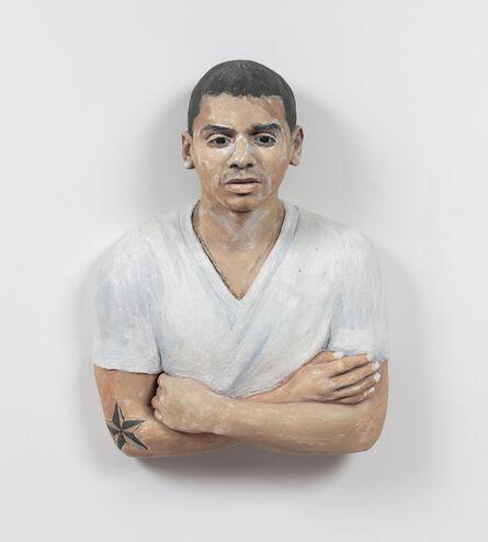 John Ahearn, 'Devon with Folded Arms ', 2015
