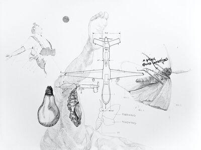 Nidhal Chamekh, 'Le Battement des Ailes No.XV', 2017