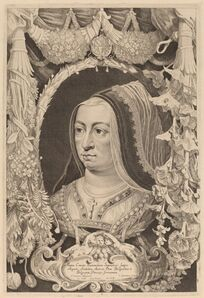 Jonas Suyderhoff after Pieter Claesz Soutman, 'Maria of Burgundy, Empress and Wife of Maximilian I'