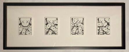 KAWS, 'Urge Four Plate Print Set ', 2021