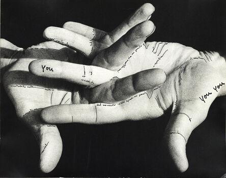 Ketty La Rocca, 'Le mie parole (My Words)', 1973