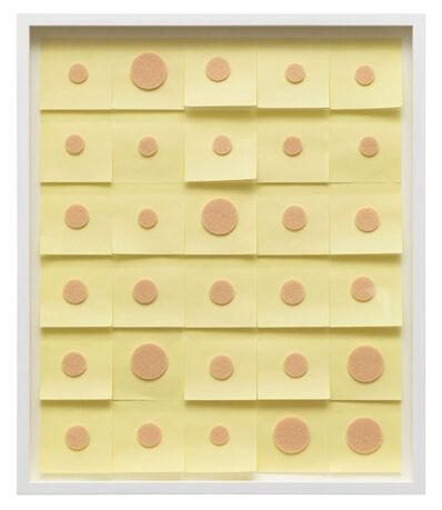 Alexandre da Cunha, 'Angst Calendar I', 2013