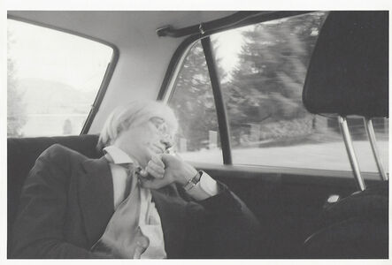 Andy Warhol, 'Andy Warhol', 1972-1986