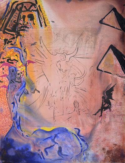 Salvador Dalí, 'Moise et le monothéisme. ', 1974