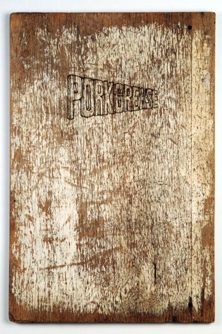Wayne White, 'Porkgrease', 2008