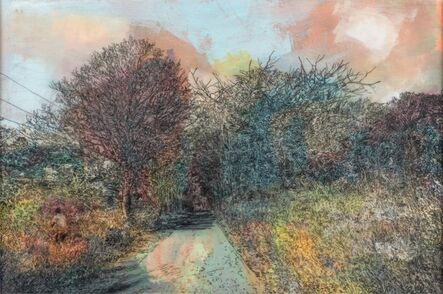 David Bailin, 'Red Trees', 2019