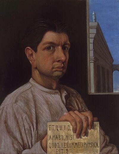 Giorgio de Chirico, 'Self-portrait', 1920