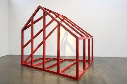Rachel Lachowicz, 'House Under Construction', 2017