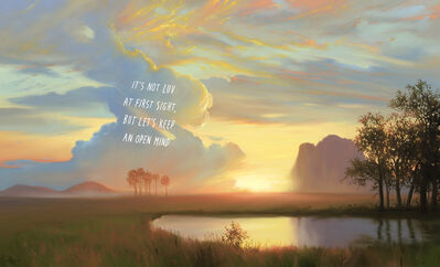 Shawn Huckins, 'Sunset at Estes Park: It's Not Love At First Sight, But Let's Keep An Open Mind', 2021