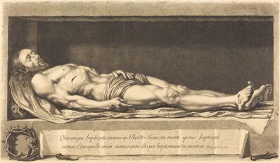 Nicolas de Plattemontagne after Philippe de Champaigne, 'The Body of Christ', 1654