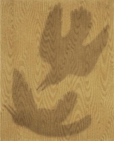Johnny Izatt-Lowry, 'Two birds on wood', 2020