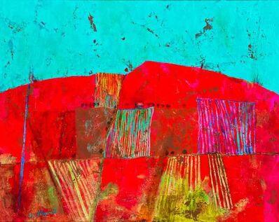 Sue Fitzgerald, 'Barn on the Road to Brignac', 2018