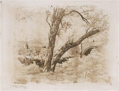 Julian Alden Weir, 'Sulby Glen-Isle of Man', 1889
