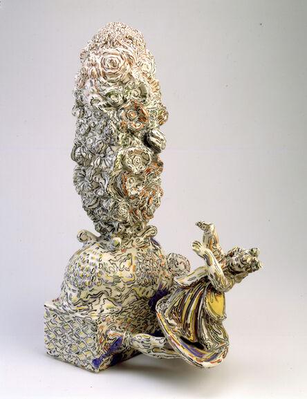Viola Frey, 'Figurine on a Spoon', 1978