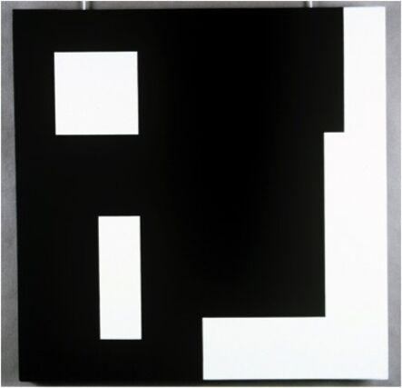 Aurelie Nemours, '4+3+9+16b+t+6', 1987