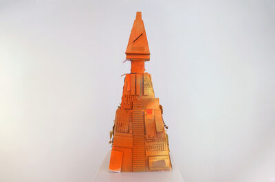Simon Vega, 'Cheesy Cheddar Temple', 2014
