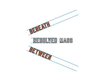 Lawrence Weiner, 'BENEATH RESOLVED MASS BETWEEN', 2006